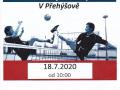Nohejbalový turnaj trojic 18.07.2020